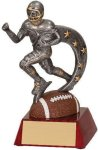 Football Action Star Resin Trophy Football Trophy Awards